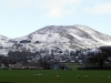 Llanbedr in the snow