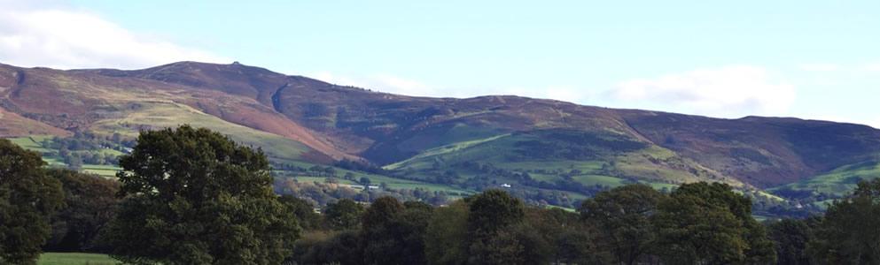 Clwydian Range in Summer