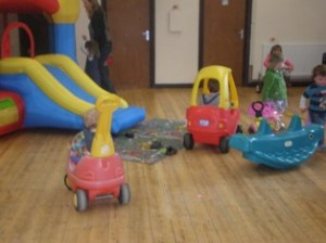 Children's party at the Village Hall