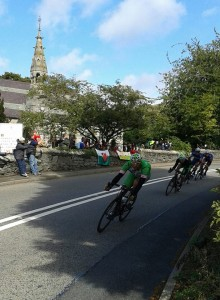 Tour of Britain Race 2013 through Llanbedr