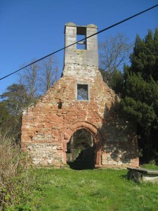 Old St Peter's church belltower