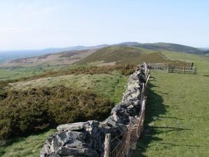 Footpath on the Clwydian Range