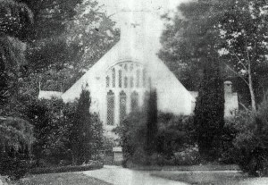 Old St Peter's Church from Llanbedr Hall