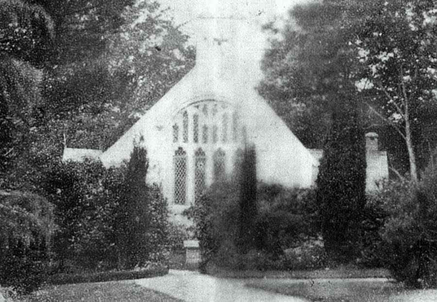 East Window of Old St Peter's Church circa 1945
