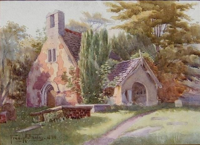 Painting of Old St Peter's Church